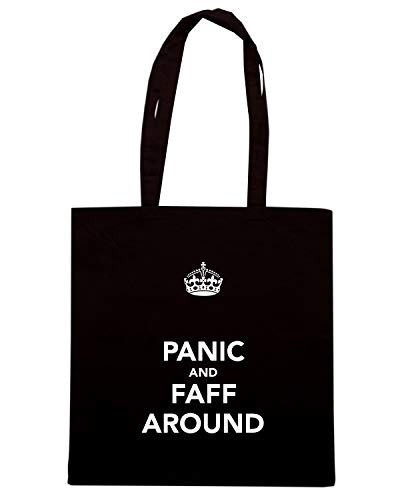 Shirt Nera Speed FAFF AROUND TKC3733 Shopper AND PANIC Borsa FwwxqpSd6