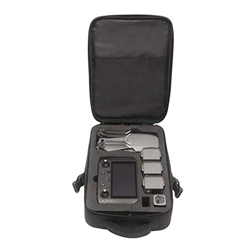 Price comparison product image QUICATCH for DJI Mavic 2 and Smart Controller Waterproof Portable Travel Durable Shoulder Bag Carrying Bag Shockproof Protective Storage Bag Black