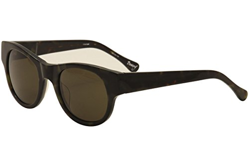 Elizabeth & James Bowery EJS1127 EJS/1127 TT03-3AM Green Havana Sunglasses - Bowery Sunglasses