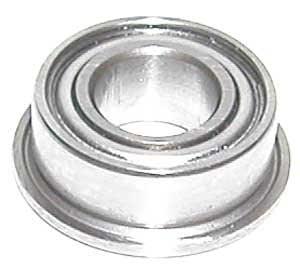 "1//4/"" x 1//2/"" x 3//16/"" FR188zz 10 PCS Flange Metal Shielded Ball Bearing FR188z"