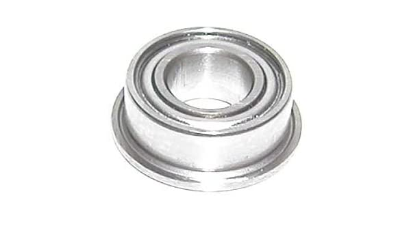 "10 Flanged Inch Bearing 1//8/""x 1//4/"" Single Shield VXB"