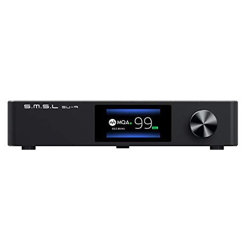 S.M.S.L SU-9 MQA Volledige Decoder ES9038PRO DAC XMOS DSD512 PCM768kHz/32Bit Bluetooth 5.0 UAT APTX-HD USB Gebalanceerde…
