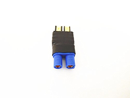 WST No Wires Connector Traxxas Male To EC3 Female Conversion Adapter for RC LiPo NiHM Battery x 3 PCS