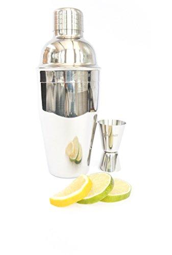 Alcochill-2pc-Bartender-Martini-Shaker-Set-Inc-Cocktail-Mixer-and-Jigger-Shot-Measuring-Martini-Bar-Tool-Kit