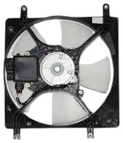 TYC 600180 Mitsubishi Galant Replacement Radiator Cooling Fan Assembly