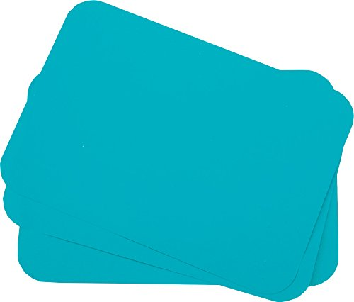 Primo Dental Products TCBAQ Tray Cover Ritter, 8.5'' x 12.25'', ''B'' Aqua (Pack of 1000)