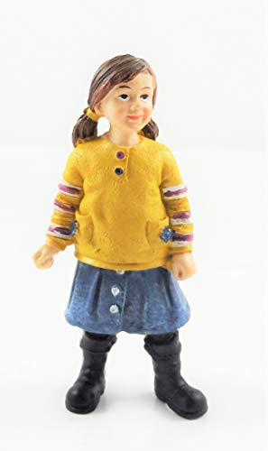 Melody Jane Dollhouse People Modern Girl in Boots 1:12 Scale Resin Figure
