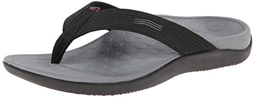 Vionic Unisex Wave Toe Post Sandal, 8 B US Women / 7 D US Me