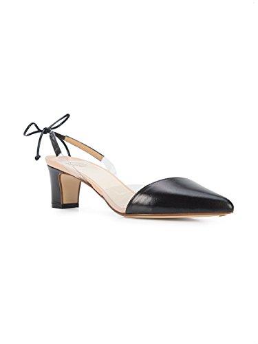 Talons FRANCESCO À Noir RUSSO Cuir Femme Chaussures R1P355200 xgrq0nSvzg