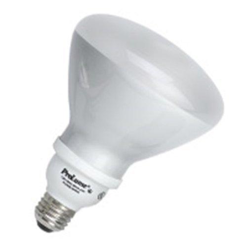 6 Qty. Halco 23W Spiral R40 3000K Med ProLume CFL23/30/R40 23w 120v CFL Soft White Flood Lamp -