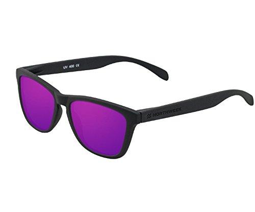 Gafas UNISEX lente black polarizada Northweek de mate sol purple qPFrxwgzqH