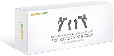 Color : Black MEETBM ZIMO,Shock Absorbing Height Extender Landing Leg Bracket for DJI Mavic 2 Pro//Zoom Black