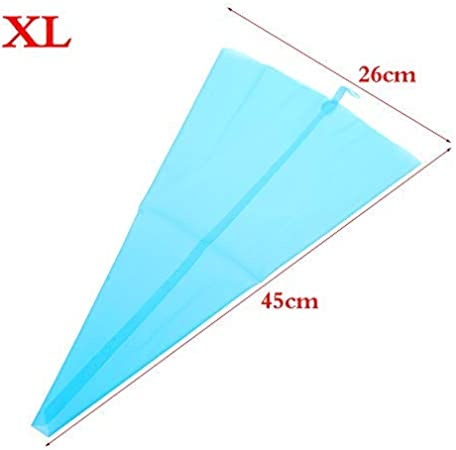 Small//Large DIY Decorating Tool Silicone Pastry Bag Cake Cream Icing Piping S