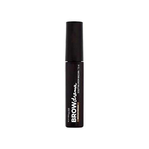 Maybelline Master Sleek Brow Mascara Medium Brown 7.6ml (Pack of 6) - メイベリンマスターなめらかな眉マスカラ媒体茶色の7.6ミリリットル x6 [並行輸入品] B0713SNRXR