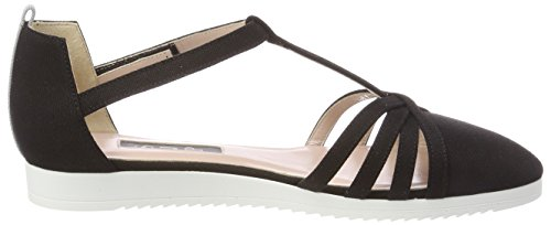 Sandals SJP Meteor Parker Black Sarah Canvas Black Women's by Jessica wxAARqYav