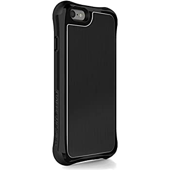 competitive price 70225 a5a14 iPhone 6s Case, Ballistic [Tungsten Slim Series] Ultra Protective 6 Ft.Drop  Test Certified Protective Case for iPhone 6 and 6S Brushed Black Back ...
