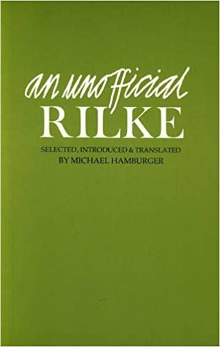 Amazoncom An Unofficial Rilke Poems 1912 1926 English