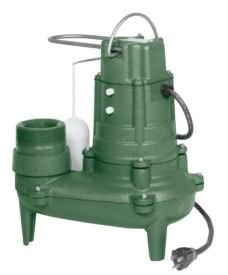 Waste Mate Submersible Pump - Zoeller N268 Waste-Mate Nonauto (Needs Variable Float Switch) 115 Volt Submersible Sewage Pump