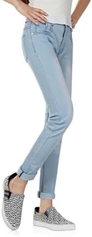 Demon&Hunter Women's Blue Skinny Jeans Y6L08