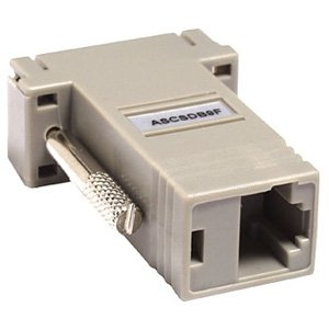 Raritan Cable Serial Adapter (Raritan Null Modem Adapter (ASCSDB9F))