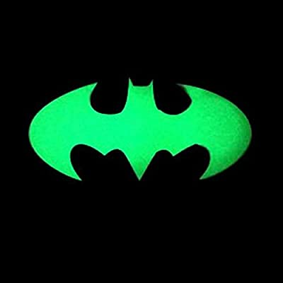 BephaMart Bike Bicycle Luminous Bats Transfer Reflective Sticker Decals : Sports & Outdoors