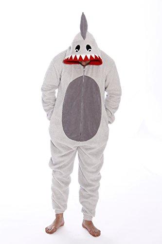 6425-XXL-Shark #FollowMe Adult Onesie / Men's Pajamas