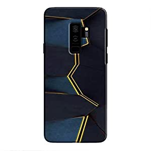 Cover It Up - Gilded Blue Fractures Galaxy S9 Plus Hard Case