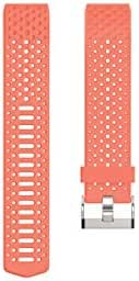 Fitbit Charge 2 Accessory Sport Band, Coral, Small