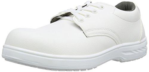 Portwest FW80 - Zapato de cordones de seguridad S2, color Blanco, talla 39 blanco