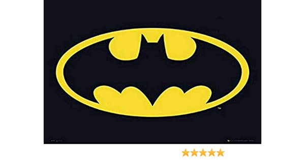 Amazon.com  Batman Classic Logo Poster 837c15d03d867