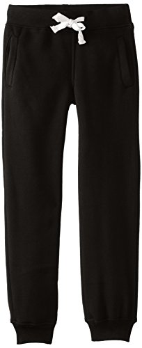 Southpole Big Boys Boys Active Basic Jogger Fleece Pants  Black  Medium