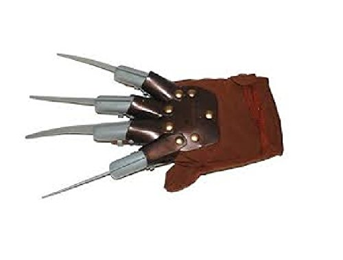 Costumes Freddy Child Krueger (Economy Freddy Krueger Glove Plastic Nails Costume Accessory Child Or)
