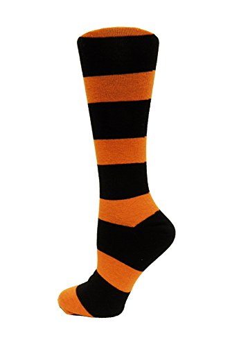 Oregon State Beavers Woven Jacquard - NCAA Oregon State Beavers Stripe Dress, One Size, Black/Orange