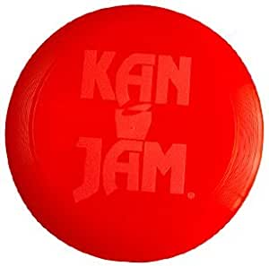 Amazon Com Kan Jam Official Flying Disc Red Flying