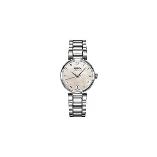 Mido M0222071111600 Baroncelli Ladies Watch - Mother Of Pearl Dial