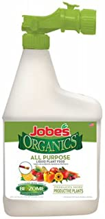 product image for Case of 5 - Jobe's Organics, 32 OZ, 1-1-1, All Purpose Liquid Fertilizer with Biozome, 05755W