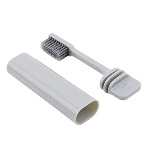 Iumer Plastic Travel Toothbrush Foldable Soft Hair Solid Color Tooth ()