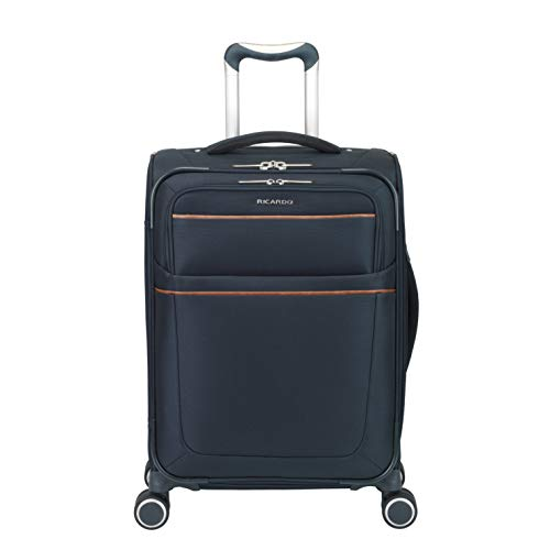 (Ricardo Beverly Hills Sausalito 21-Inch Carry On Spinner (Midnight Blue))