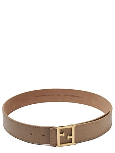 Fendi Leather Belt - 4