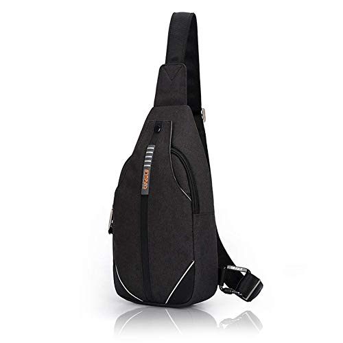Bag Secure Shoulder Travel - WATERFLY Small Crossbody Sling Backpack Anti Theft Backpack for Traveling Chest Bags for Men&Women Multipurpose Casual Daypack Hiking Shoulder Bag