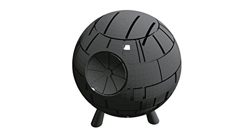 3D Printed Deathstar Knife Block Printed By 3D Cauldron (Not an Official Star Wars Product)