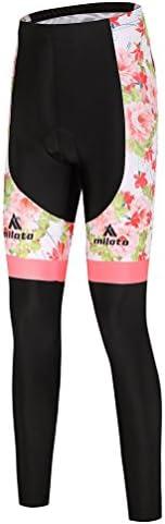 Uriah Women's Cycling Pants Fleece Inner 3D Gel Padded Reflec