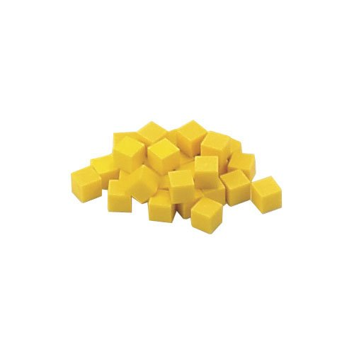 EAI Education Base Ten Units: Yellow Plastic - Set of 1000 ()