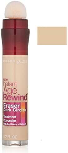 Maybelline New York Instant Age Rewind Eraser Dark Circles Treatment Concealer, 0.2 fl. oz.