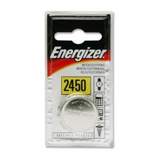 Energizer 3-Volt Coin Lithium Batteries CR2450 6 PK (Coin 3v Cell Lithium Cr2450)
