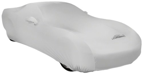 Coverking Custom Fit Car Cover for Select Chevrolet Truck C/K 150025003500 Models - Satin Stretch (Pearl White)