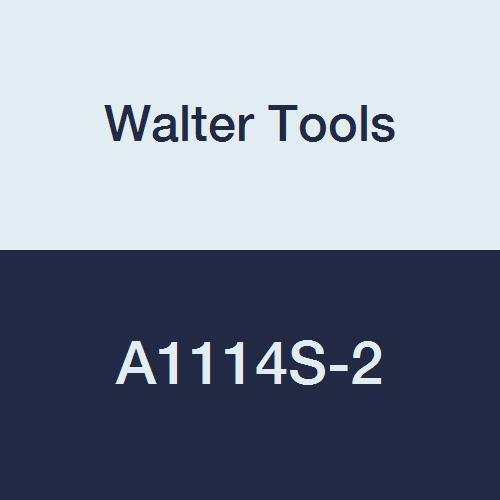 40 mm Overall Length 22 mm Extension Length Walter Tools A1114S-2 2 mm HSS NC Spot Drill 0.58 mm Length of Cut
