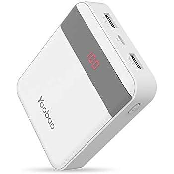 Amazon.com: Yoobao Portable Charger 12000mAh Ultra Slim ...