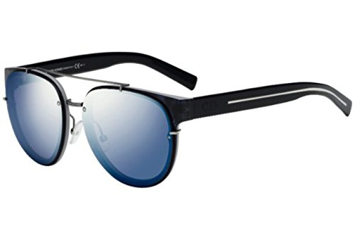 DIOR BLACK TIE 143S dark blue black/blue silver (PRP/XT) - Sunglasses Dior