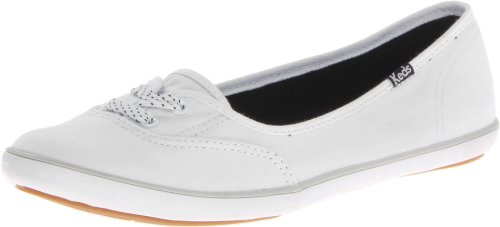 Fashion Flat,White,6 M US (Keds Lace Shoes)